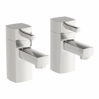 Orchard Elena bath pillar taps