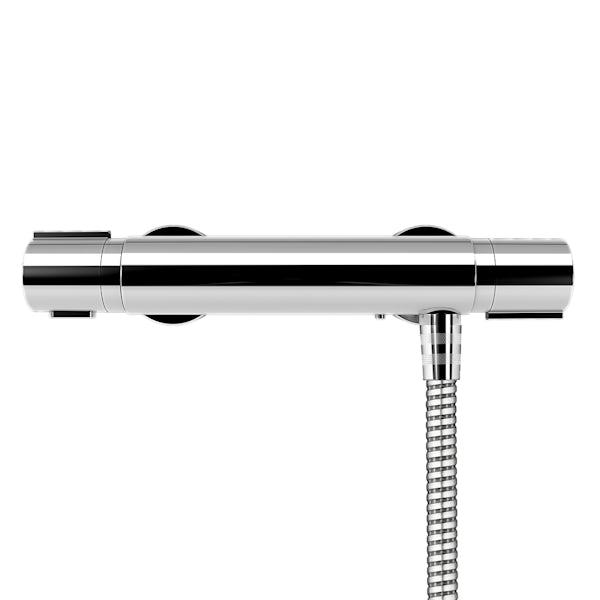 Aqualisa Midas 110 slider rail mixer shower