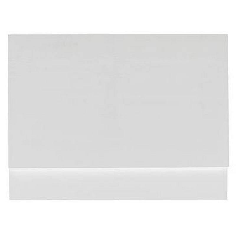 Gloss White Wooden Bath End Panel 800
