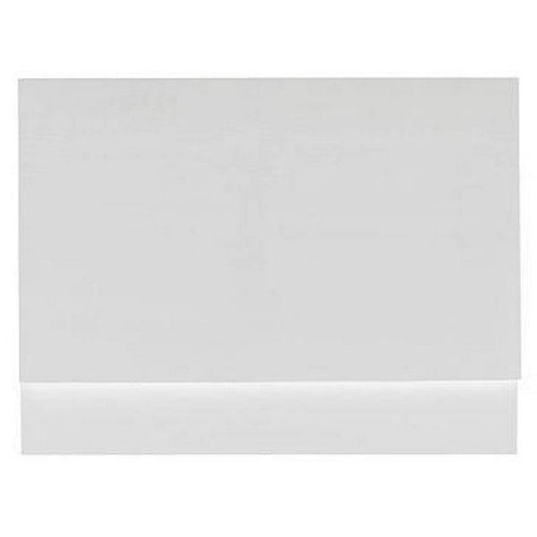 Gloss White Wooden Bath End Panel 800