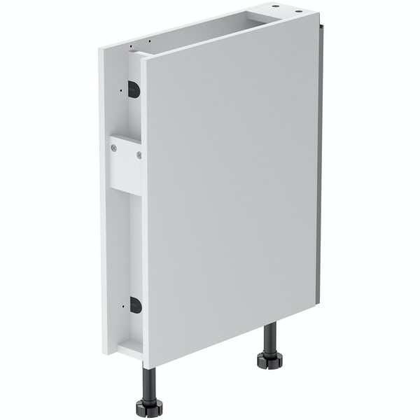 Schon Chicago mid grey 150mm pull out base unit