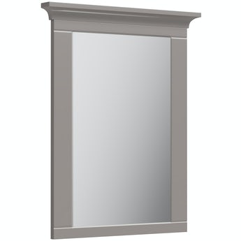 The Bath Co. Winchester graphite grey bathroom mirror 750 x 600mm