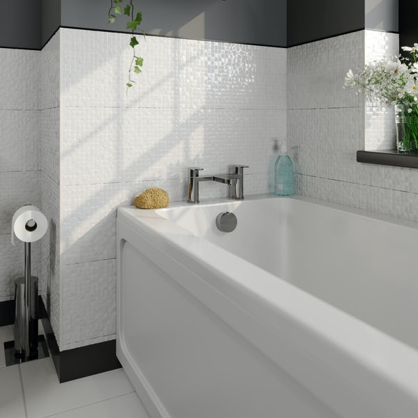 Kirke WRAS Curve bath mixer tap