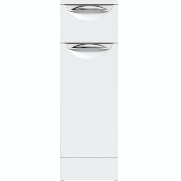 Orchard Elsdon white slimline storage unit 785 x 250mm