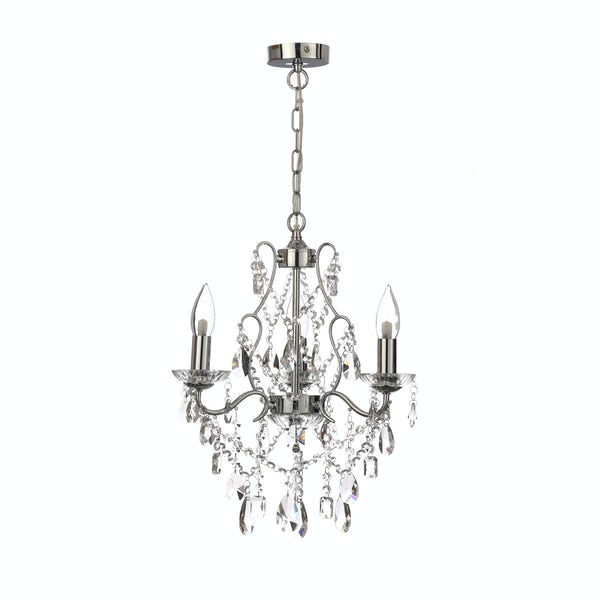 Marquis by Waterford Annalee 3 light bathroom chandelier