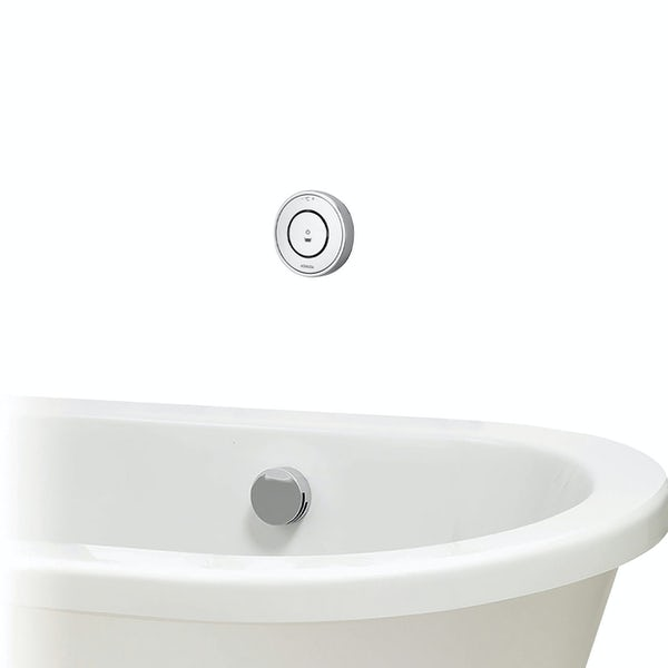 Aqualisa Unity Q Smart concealed bath filler with overflow