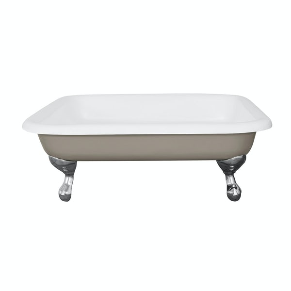 The Bath Co. Lewes pavilion grey cast iron shower tray