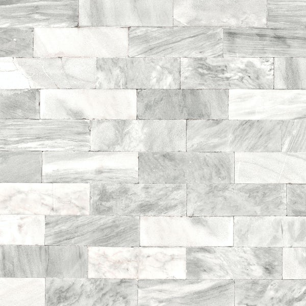 Graham & Brown Superfresco easy herringbone marble tile wallpaper