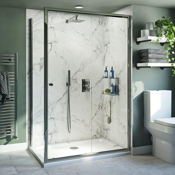 Clarity 4mm shower enclosure with lightweight tray
