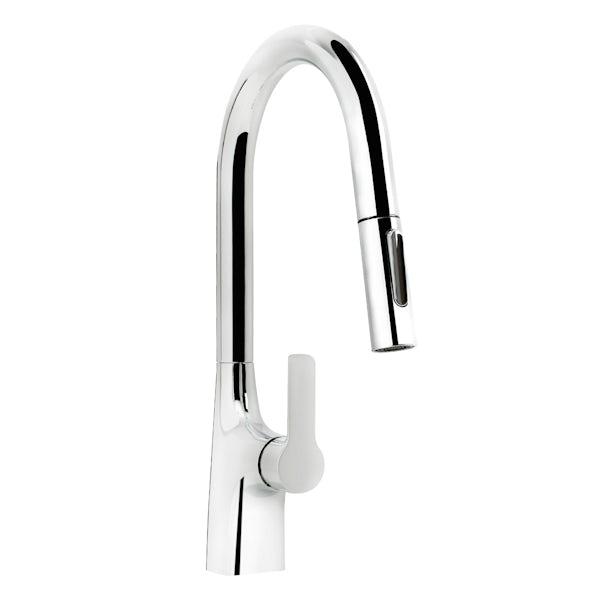Bristan Gallery Pro Glide single lever kitchen mixer tap