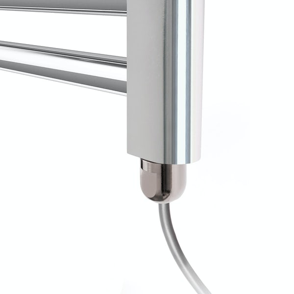 Terma Leo SIM chrome electric towel rail