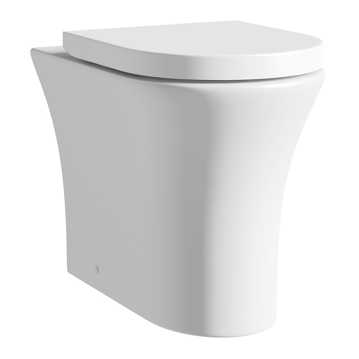Hardy back to wall toilet inc soft close seat