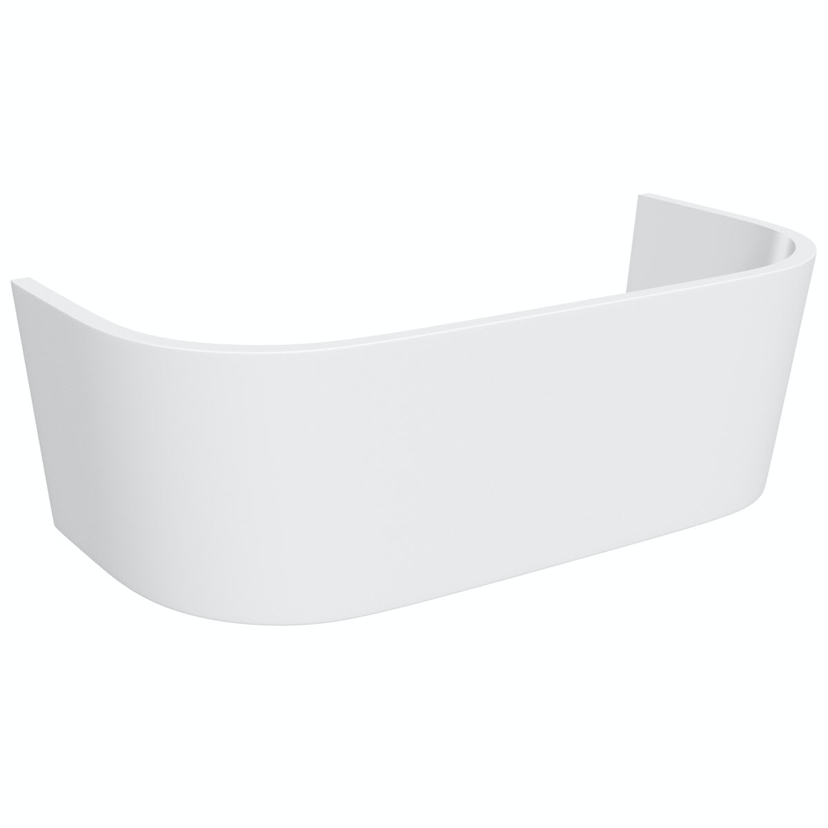 Orchard Elsdon D shaped acrylic bath panel