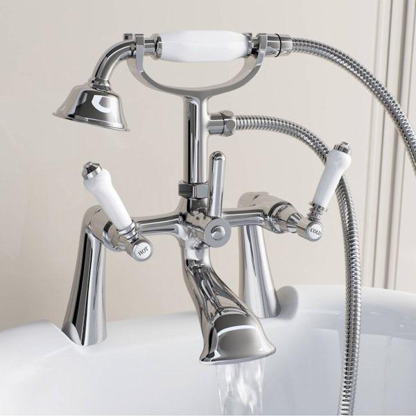 The Bath Co. Winchester bath shower mixer tap