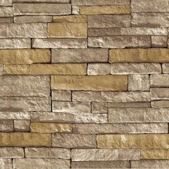 Main image for Graham & Brown Superfresco easy ledgestone grey and terracotta wallpaper
