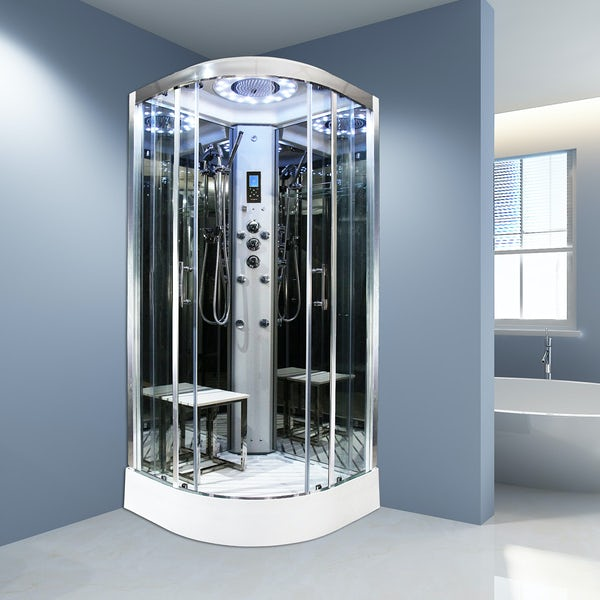 Insignia Platinum quadrant steam shower cabin