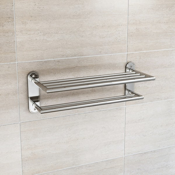 Orchard Options contemporary towel shelf