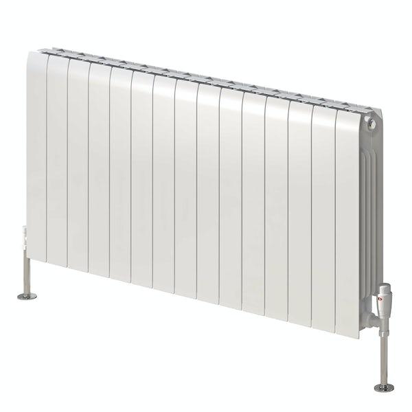 Reina Miray white aluminium designer radiator