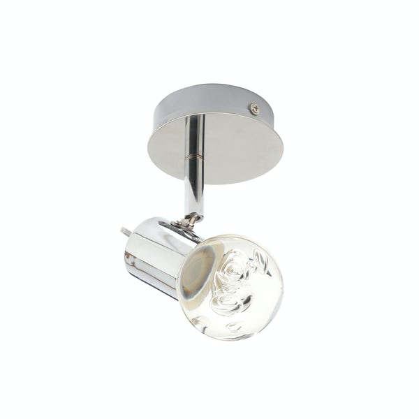 Forum Theia bubble effect round 1 light bathroom ceiling spotlight