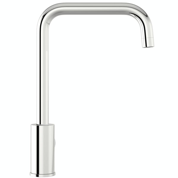 Schön L spout kitchen tap