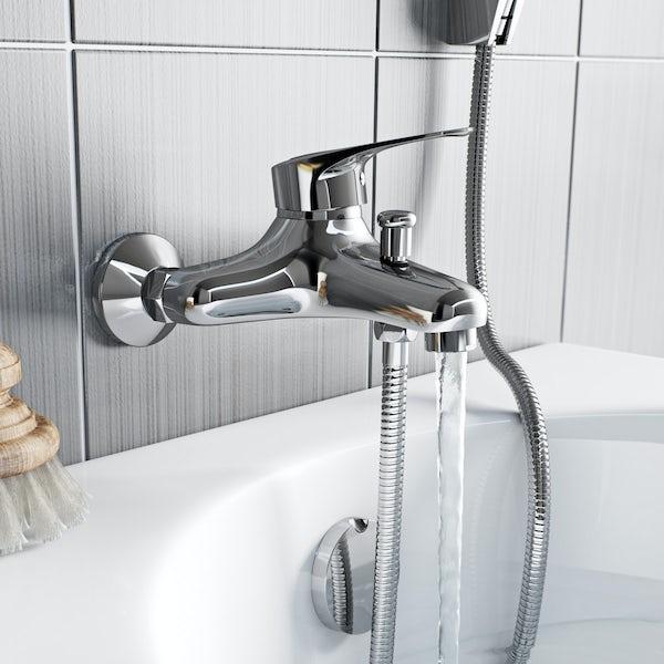 Orchard Dart loop bath shower mixer tap