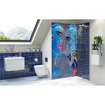 Louise Dear Coo..ee bathroom suite with wet room