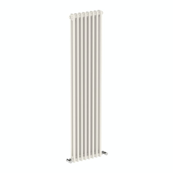The Bath Co. Dulwich vertical white double column radiator