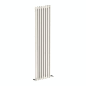 The Bath Co. Dulwich vertical white double column radiator 1500 x 380