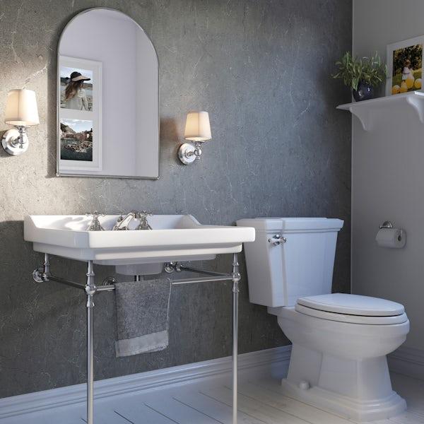 Showerwall Zamora Marble waterproof proclick shower wall panel