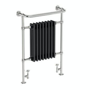 The Heating Co. Santa Fe black traditional radiator 952 x 659