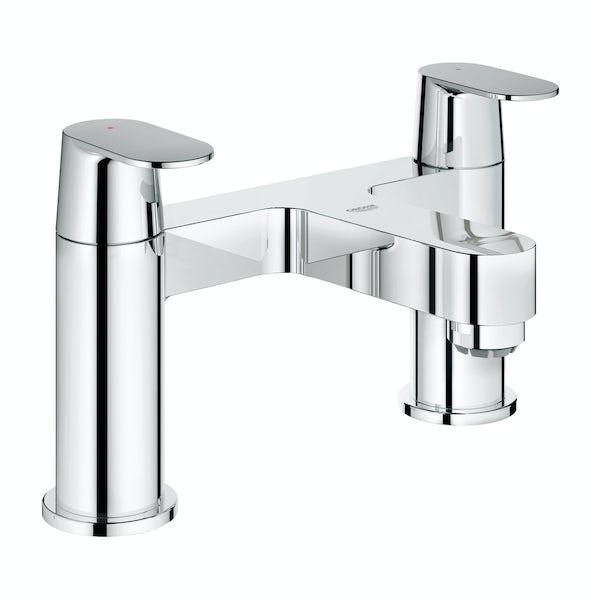 Grohe Eurosmart Cosmopolitan bath mixer tap | VictoriaPlum.com