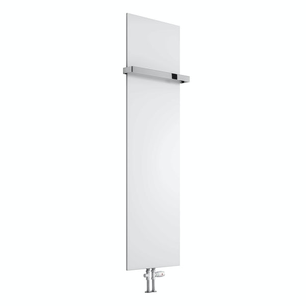 Reina Slimline white vertical steel designer radiator