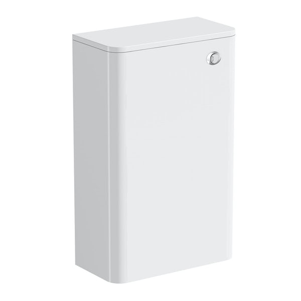 Mode Harrison snow back to wall toilet unit