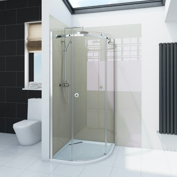 Zenolite plus stone acrylic shower wall panel 2070 x 1000