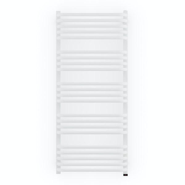 Terma Alex ONE white electric towel rail