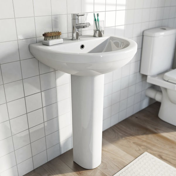 Orchard Eden Bathroom Suite With Left Handed L Shaped