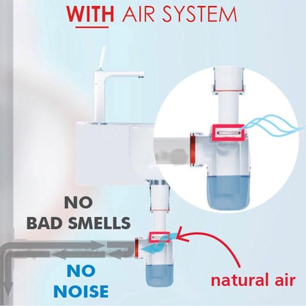 Macdee Wirquin Neo Air zero leak trap 40mm
