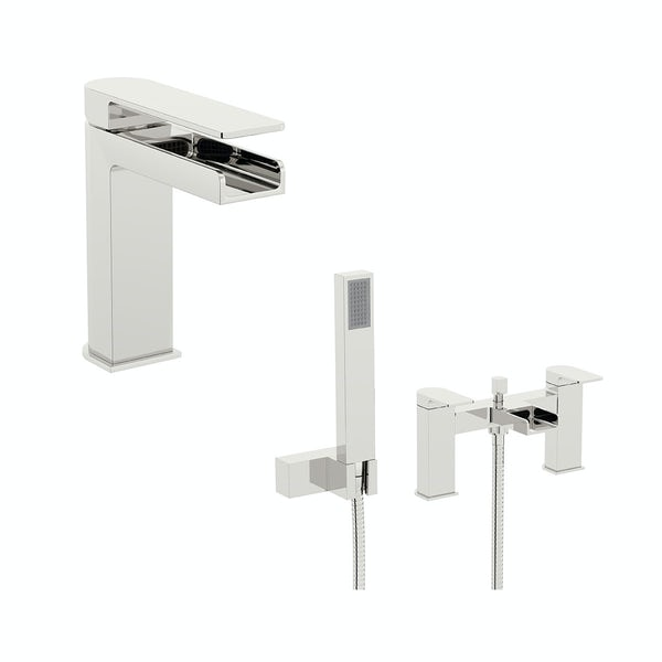Cooper Basin and Bath Shower Mixer Pack