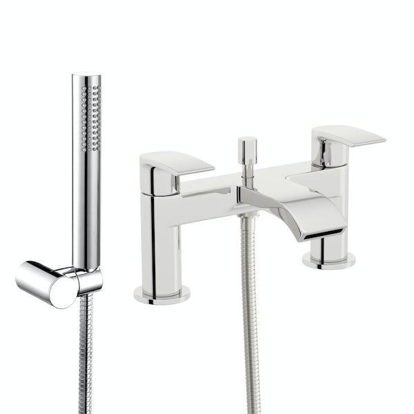 Orchard Derwent round bath shower mixer tap