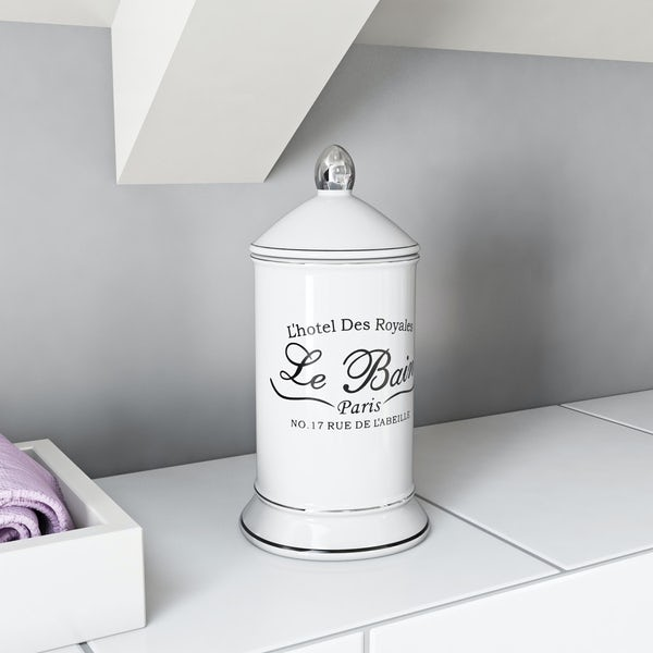 The Bath Co. Le bain storage jar