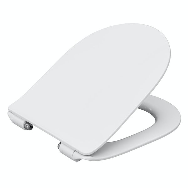 Mode slim design thermoset soft close seat with quick release function