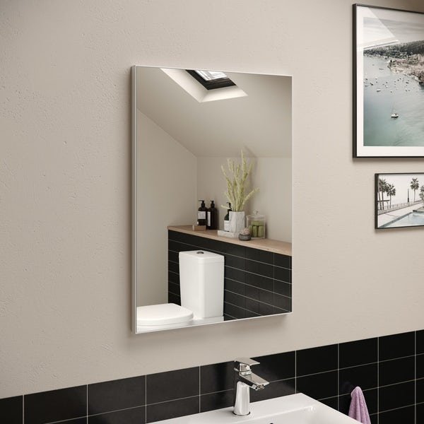 Ideal Standard framed mirror 500 x 700mm