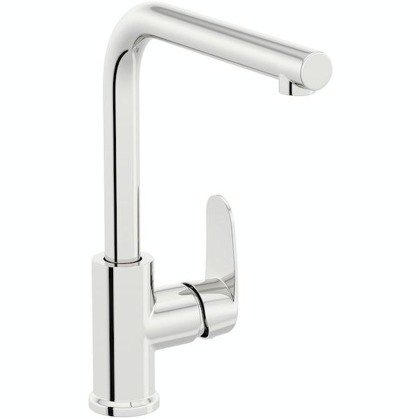Schon Tresco Pro chrome single lever kitchen mixer tap