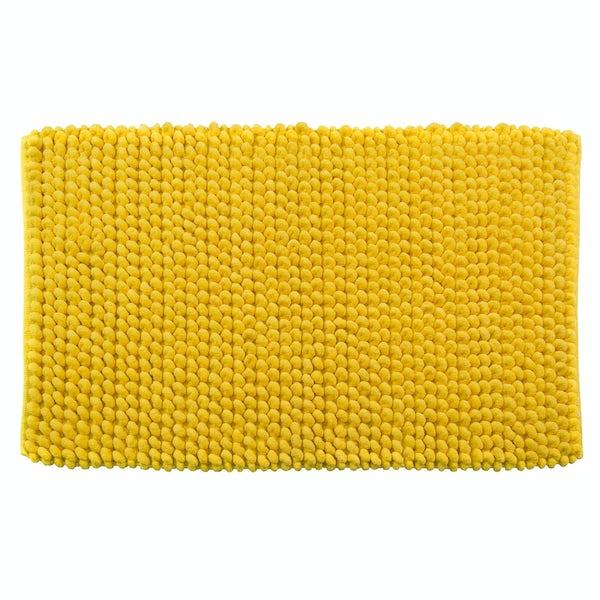 Croydex yellow soft cushioned bath mat
