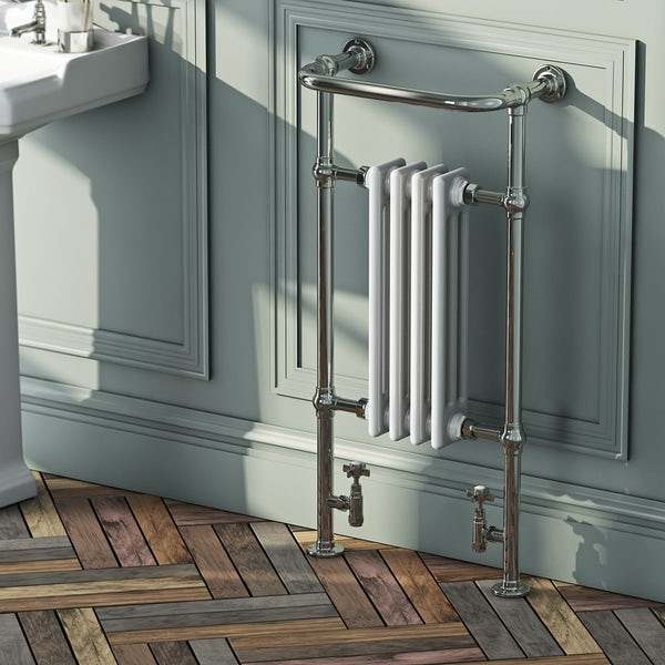 The Bath Co. Dulwich traditional radiator 952 x 479