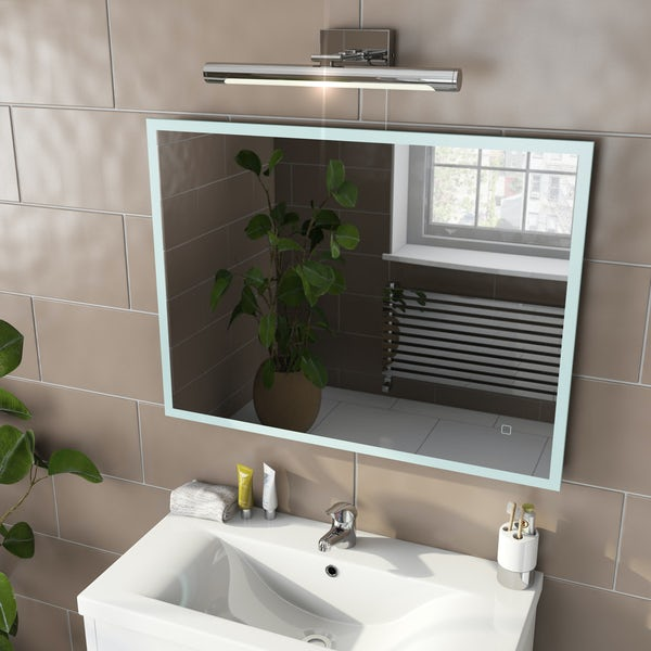 Mode Mayne LED illuminated mirror 600 x 800mm with demister