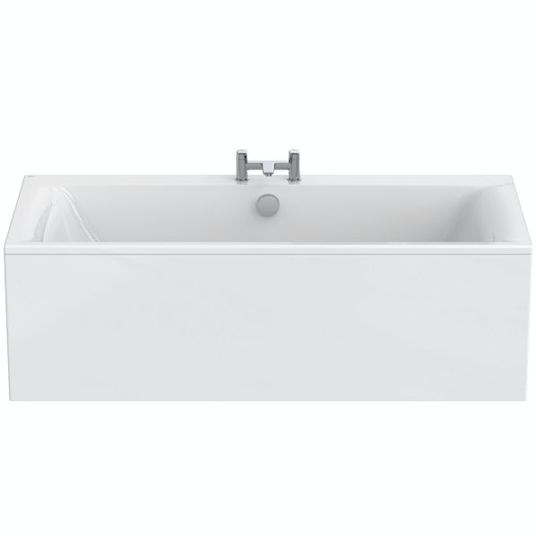Ideal Standard Concept Air double ended rectangular bath and front panel 1700 x 750