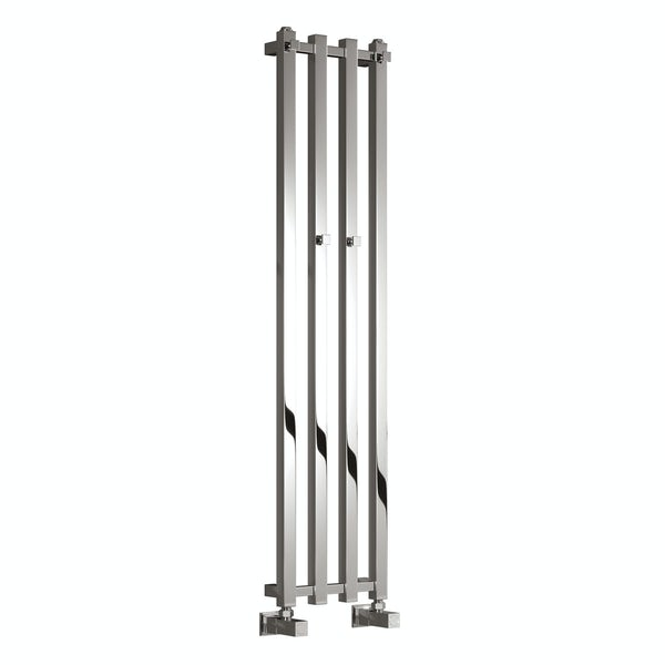 Reina Todi chrome steel designer radiator