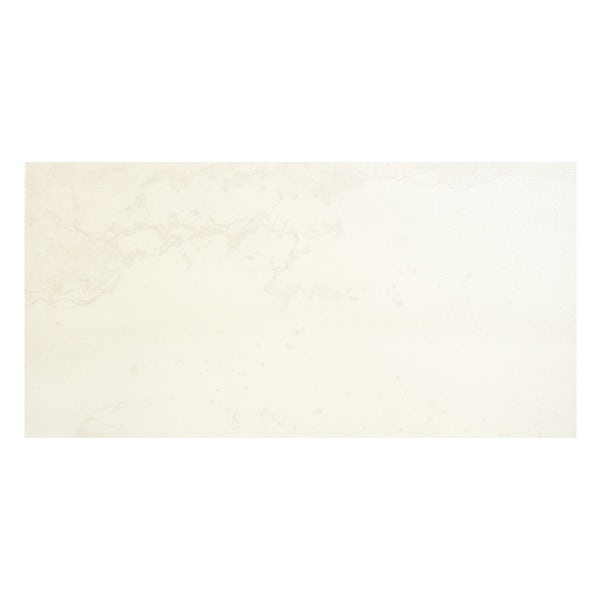 Cosmic white lappato textured wall and floor tile 300mm x 600mm