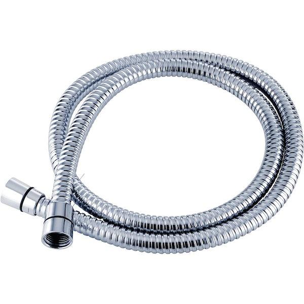 Triton Anti-twist chrome shower hose